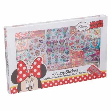 575 stuks disney minnie mouse kinder stickers