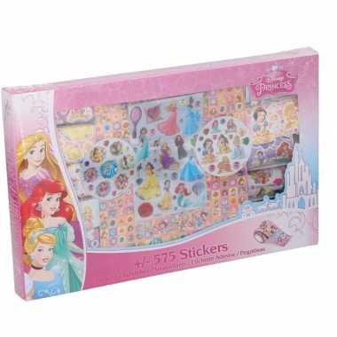 575 stuks disney princessen stickers