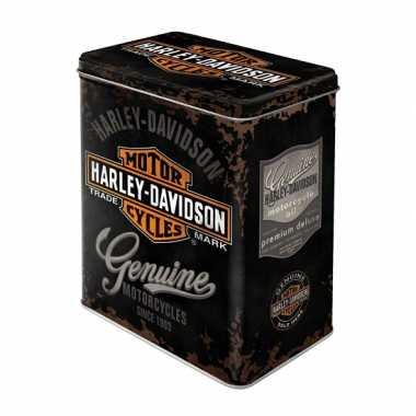 Bewaarblik Harley Davidson 20 cm