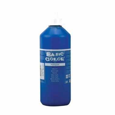 Blauwe schoolverf in tube 1000 ml