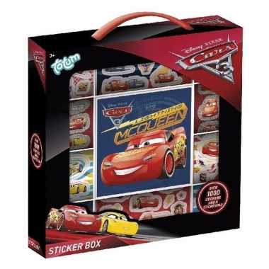 Cars 3 auto stickervellen