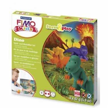 Fimo klei pakket dinosaurus