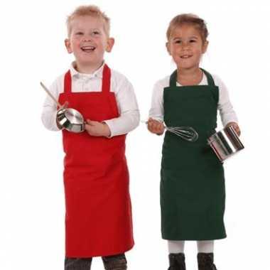 Keuken schort voor kinderen