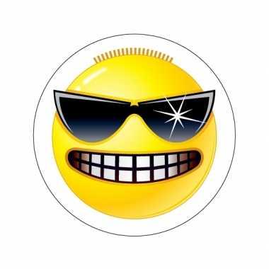 Kinderkamer stickers Smiley type 3