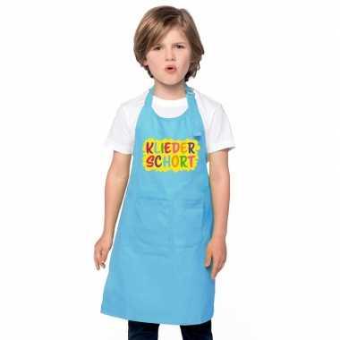 Kliederschort blauw kinderen