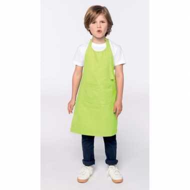 Kliederschort lime groen voor kids