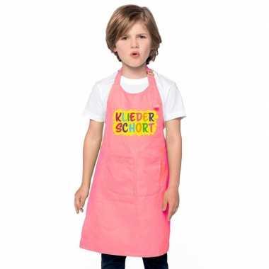 Kliederschort roze kinderen