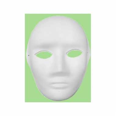 Knustel maskers gezicht