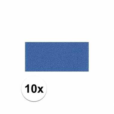 Knutsel rubber blauw 10 stuks