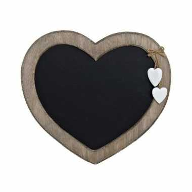 Krijtbord hart vorm 27 cm