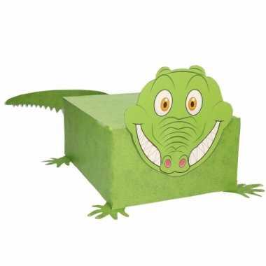 Krokodil surprise maken startpakket