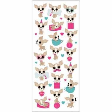Poezie album stickers Chihuahuas