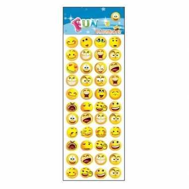 Poezie album stickers emoticon smiley gezichtjes