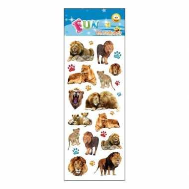 Poezie album stickers leeuwen