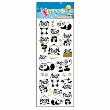 Poezie album stickers pandas