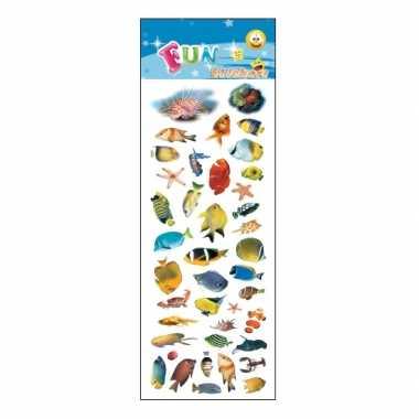 Poezie album stickers tropische vissen