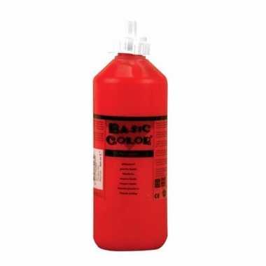 Rode schoolverf in tube 1000 ml