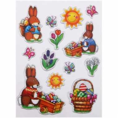 Stickervel met Pasen stickers