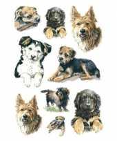27x honden stickertjes voor kinderen