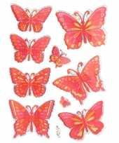 Ballonnen versieren vlinder stickers