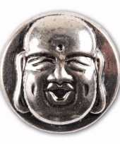 Boeddha chunk van metaal 1 8 cm