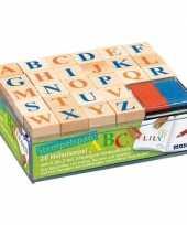 Letters stempelen hobby knutselset voor kinderen