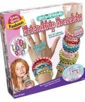 Parel glans vriendschaps armbanden set