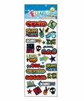 Poezie album stickers graffiti theme