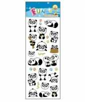 Poezie album stickers pandas