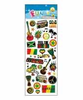 Poezie album stickers reggae theme