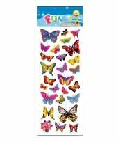 Poezie album stickers vlinders