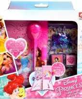Roze disney prinsessen dagboekje zelf maken voor meisjes ariel assepoester belle rapunzel sneeuwwitj