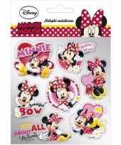 School agenda stickers minnie mouse 7 stuks type 2