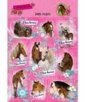 School agenda stickers paarden set 3 10 stuks