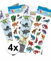 School stickers pakket dinosaurus