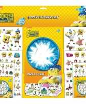 Stickerboek spongebob