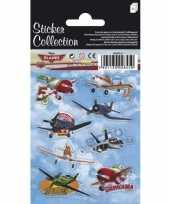 Stickervellen planes